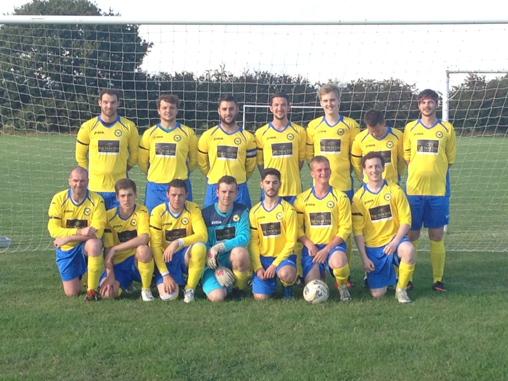 Great Horwood Reserves new kit