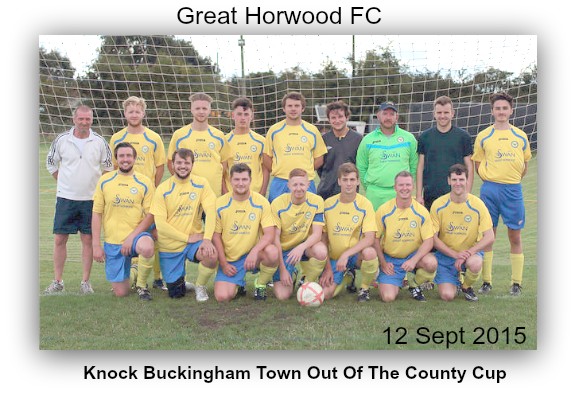 Great Horwood Topple Buckingham Town In Huge County Cup Shock